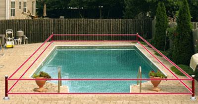 Alarme de piscine : le détecteur infra rouge