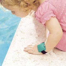 L'alarme portative pour détecter la chute dans la piscine