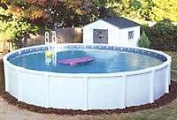 La piscine démontable
