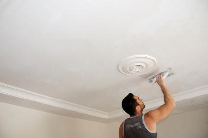 Rénovation des plafonds et poutre