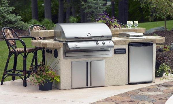 Le barbecue gaz astuces et bricolage for Fabriquer cuisine exterieure