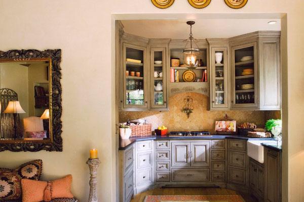 Augmenter l espace d une petite cuisine astuces et bricolage - Amenager cuisine ouverte sur salon ...