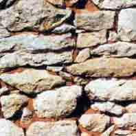 Mur Pierres de tout-venant