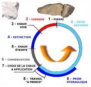 LE CYCLE DE LA CHAUX