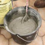 La préparation du mortier