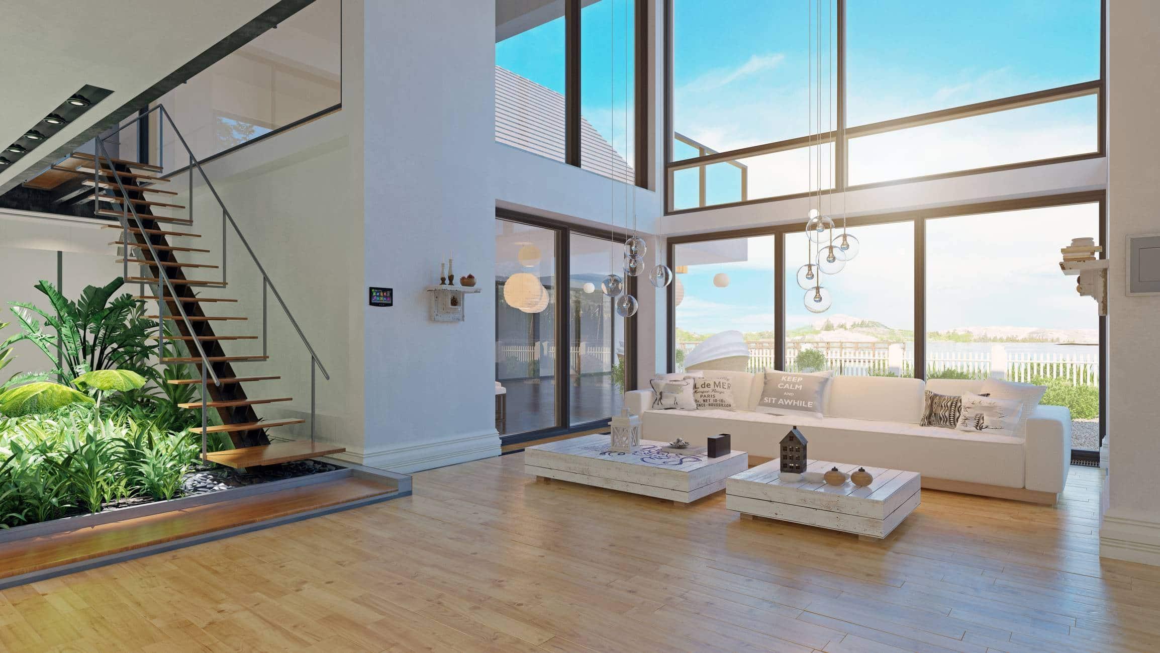 Les verrières donnent en outre l'impression d'agrandir votre espace intérieur