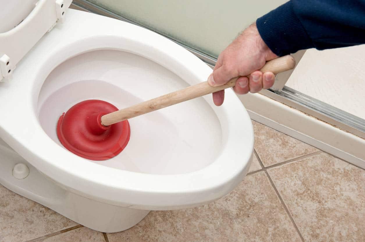 Deboucher une toilette